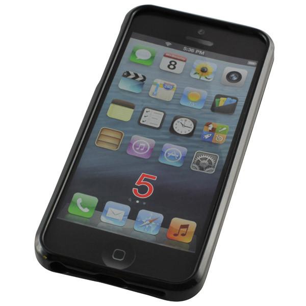 TPU-Case fĂĽr Apple iPhone 5/5S, SE, schwarz
