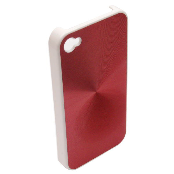 Hard Cover fĂĽr Apple iPhone 4, 4S - Konkis - MAGIC, rot