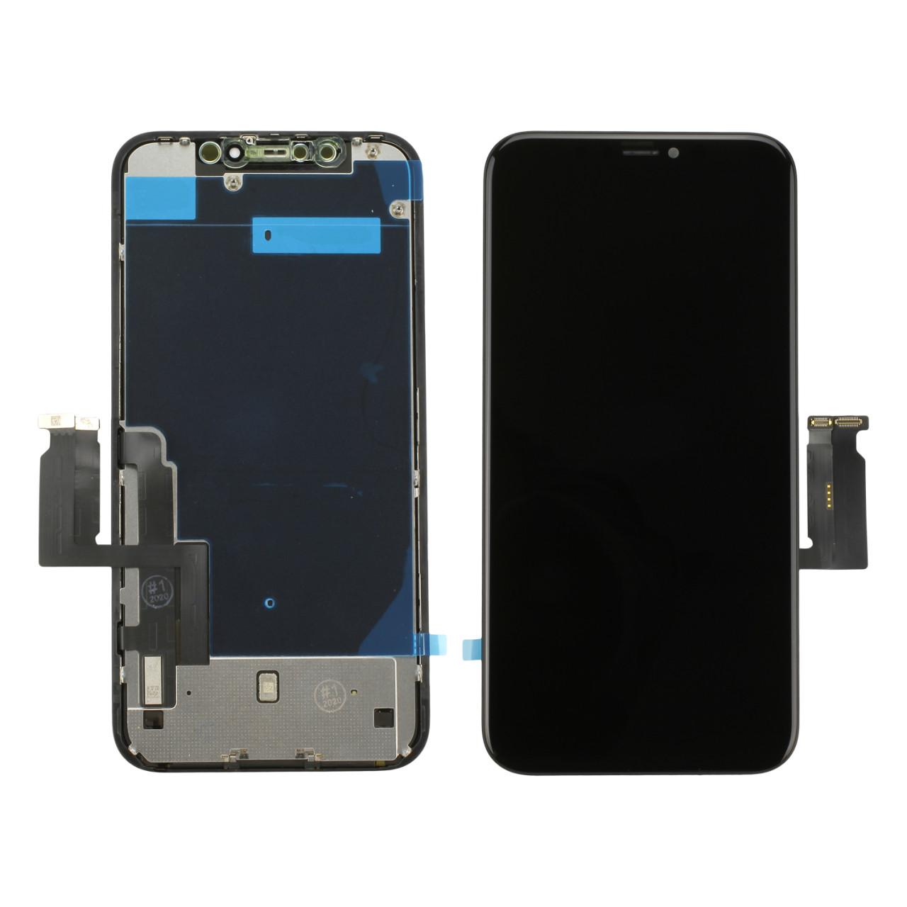 Apple LCD-Displayeinheit (Toschiba) inkl. Touchscreen, passend für iPhone XR, schwarz