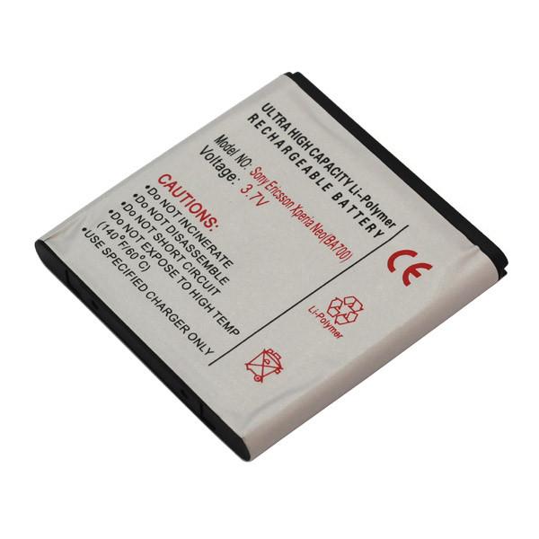 Akku für SonyEricsson Xperia Neo, Xperia Pro, Xperia Ray, entspricht BA700, L...