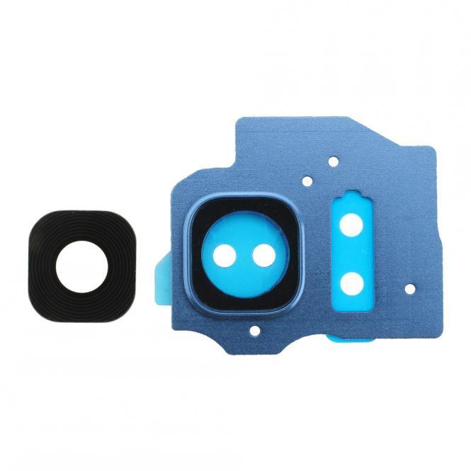 Kamera Fenster mit Gehäuse für Samsung Galaxy S8 Plus G9550F, blau