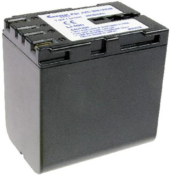 Akku wie JVC BN-V428, anthrazit