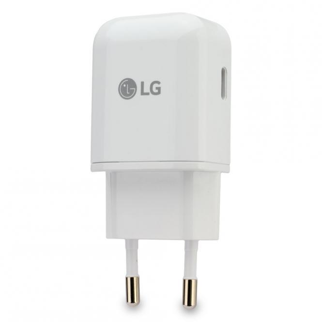 Schnell-Ladegerät Original LG MCS-N04ER USB Typ-C für Smartphones mit Schnell...