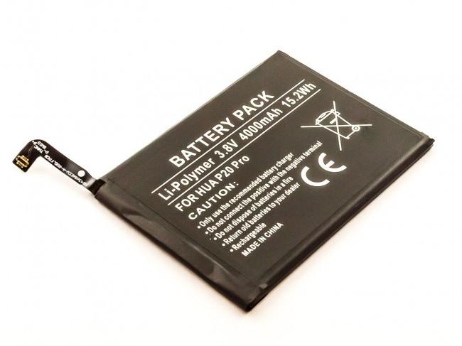 Akku fĂĽr Huawei Mate 10, Mate 10 Pro, P20 Pro, wie HB436486ECW, 4000 mAh, 3,8V