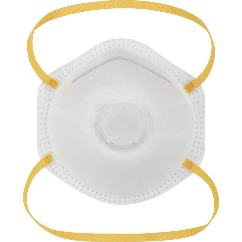 EMCOM 10 x Schutzmaske FFP1 DIN EN149, mit Ventil - (1 Packung mit 10 Stück)