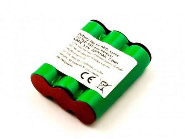 Akku für Akku-Sauger AEG Junior 2.0, Elektrolux PNC900165, wie 331 079 36, 3....
