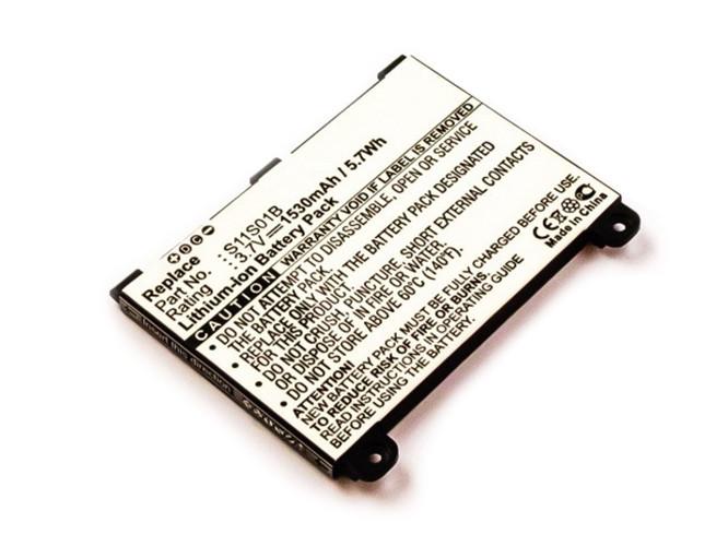 Akku für Amazon Kindle 2 WiFi Version, Kindle DX, Li-Ion, wie S11S01B