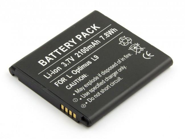 Akku für LG F160K, Optimus LTE 2, P760 Optimus L9, P880 Optimus 4X HD, P875 O...