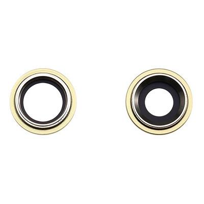 Apple Rücken- /Hauptkameralinse, 2 Stück, passend für iPhone 11, gelb