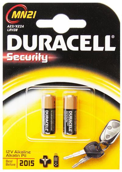 Duracell Batterie Rundzelle MN21, MN23L RV08, V23GA, 12 Volt, MS21, LR23A, A23, GA23A,...