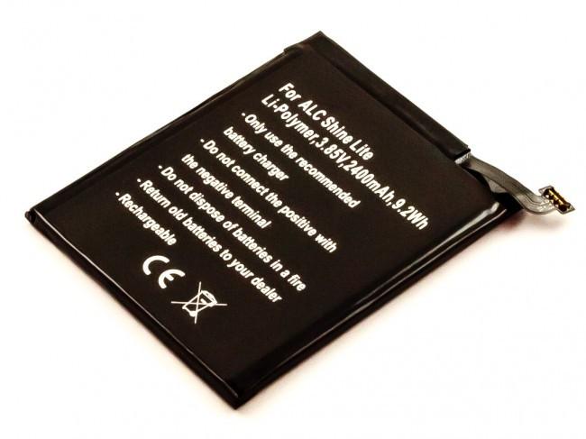 Akku für Alcatel Shine Lite, One Touch Shine Lite, A30, OT-5046G, OT-5080X, w...