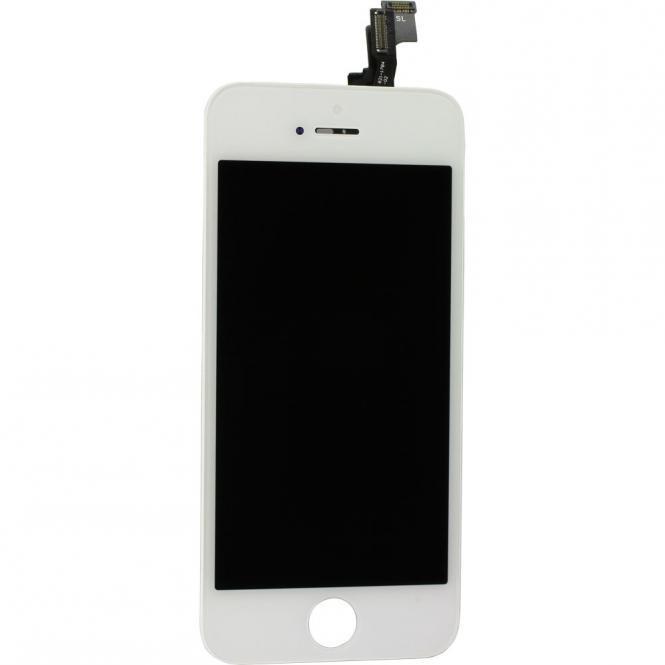 Display Einheit inkl. Touchscreen fĂĽr iPhone SE, weiĂź
