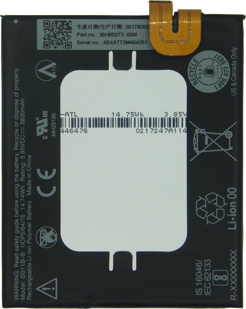 HTC / Google Akku Original Google für Google Pixel 2 XL, Typ G011B-B, 35H00273-00M