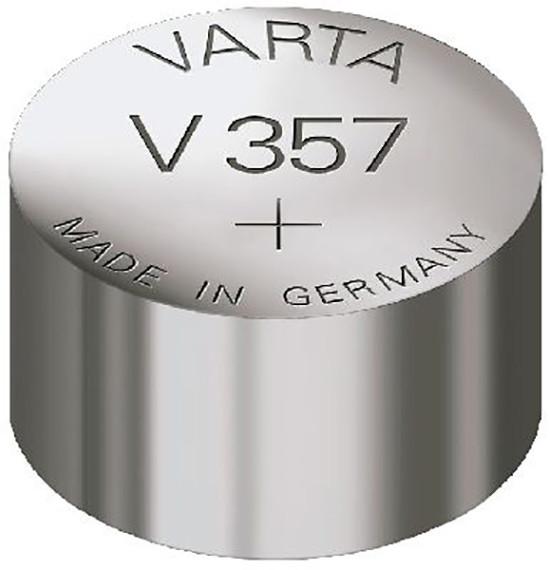 Varta Uhrenbatterie 357, wie V357,S05, 228, 280-62, D357, 357, SR44W, 1131SO,...
