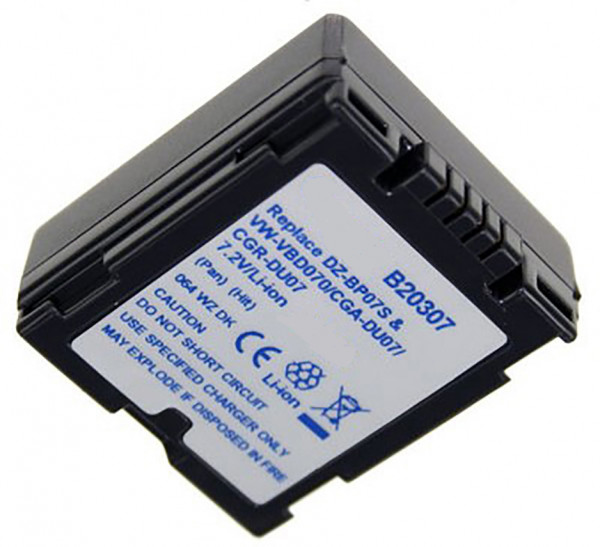 Akku wie Panasonic CGR-DU06E, CGR-DU07, CGA-DU07