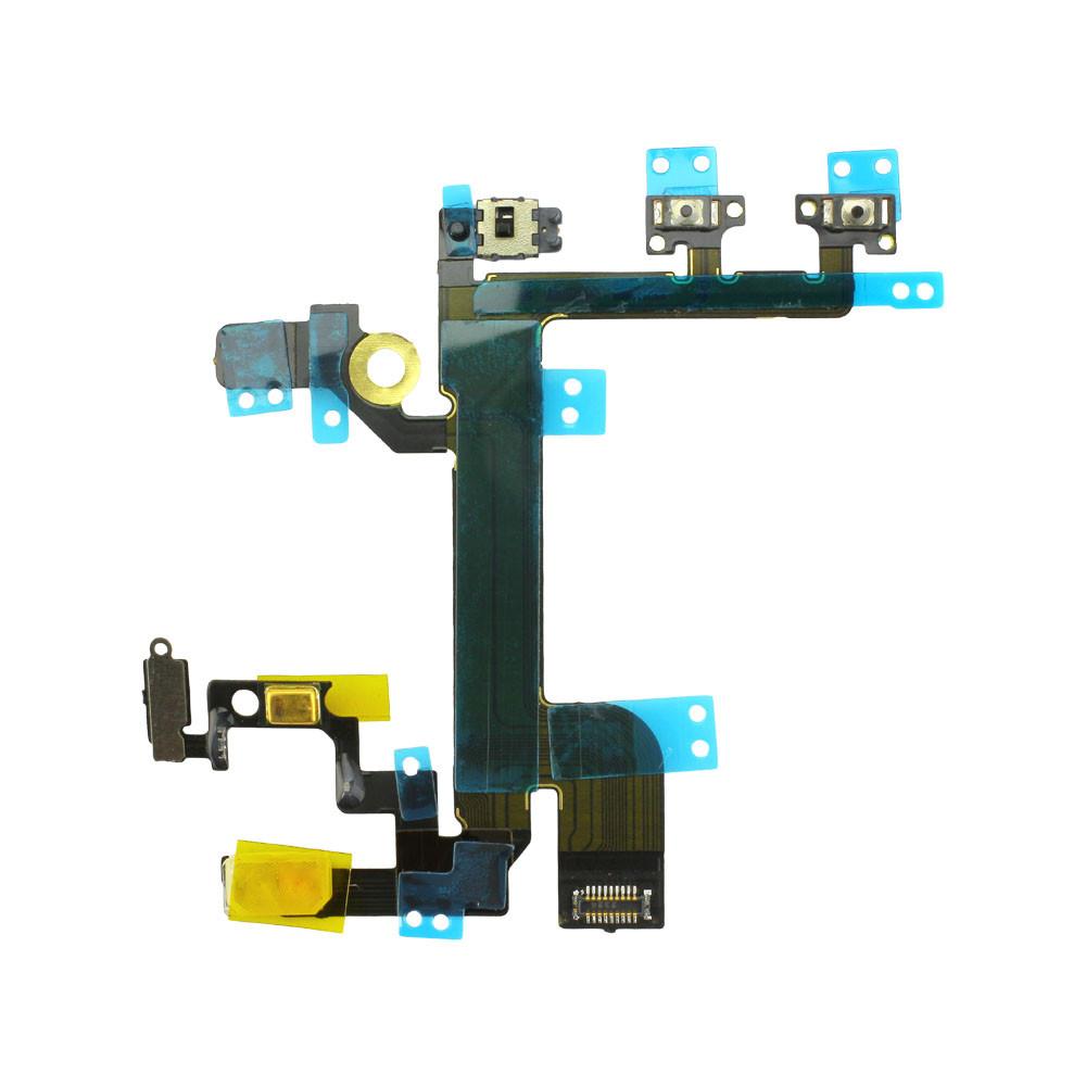 Ein/Aus-Schalter und Volumetasten mit Flexkabel + Mikrophon für Apple iPhone SE