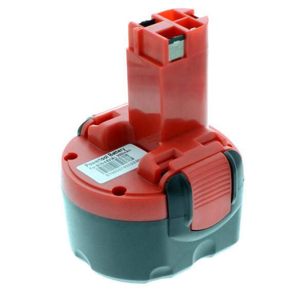 Akku für Bosch GDR, GSR, PAG, PSR, RT, BAT100, 2607001380, 2607300002, 2607335260, 9,6V, 3 Ah, Ni-Mh