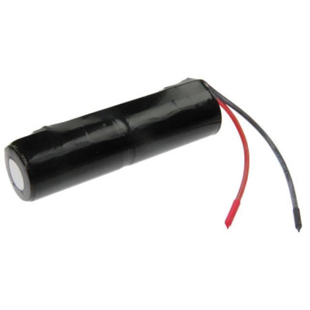 Akkupack für Notbeleuchtung 2.4V, L1x2 Saft, C (Baby), VNT C mit Kabel, 2,5Ah