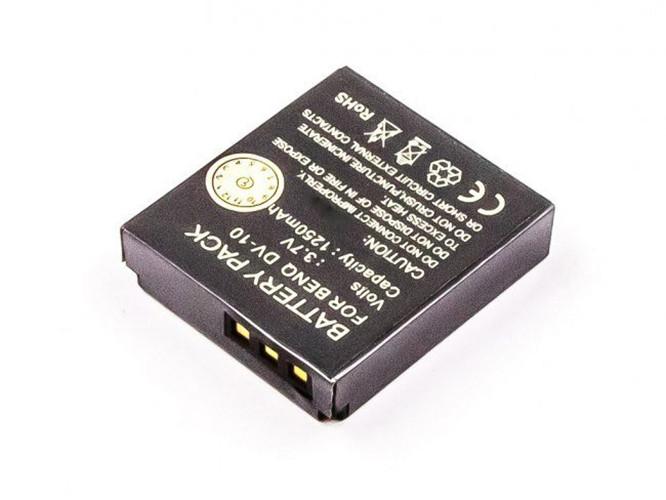 Akku für Akku Praktica DVC 10.1 HDMI, entspricht DV10