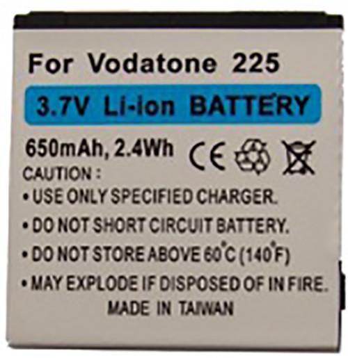 Akku für Vodafone 125, 225, 246, ZTE Vegas, A34, A37, C300, wie Li3706T42P3h383857
