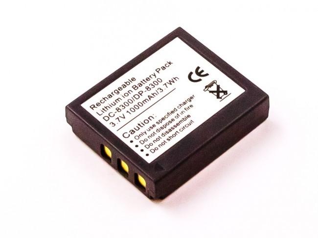 Acer Akku wie Medion BATS8, DC-8300 für Traveler DC8300, 8500, 8600, DC-XZ5, XZ6, ...