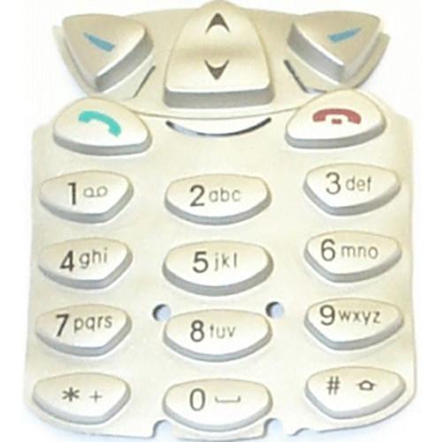 Tastaturmatte original Nokia 6210 silber