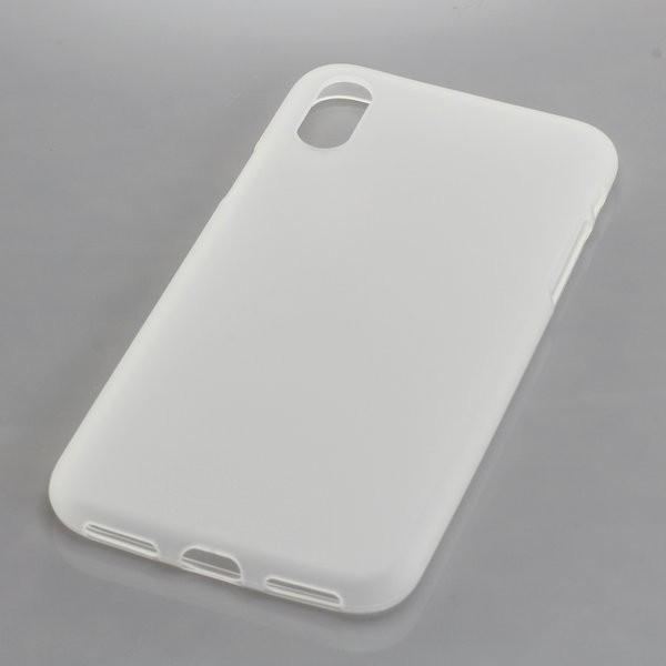 BackCase fĂĽr Apple iPhone X aus flexiblem TPU, transparent