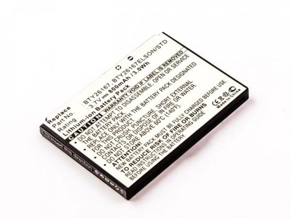 Akku für Mobistel Elson EL680, wie BTY26167, BTY26167ELSON/STD