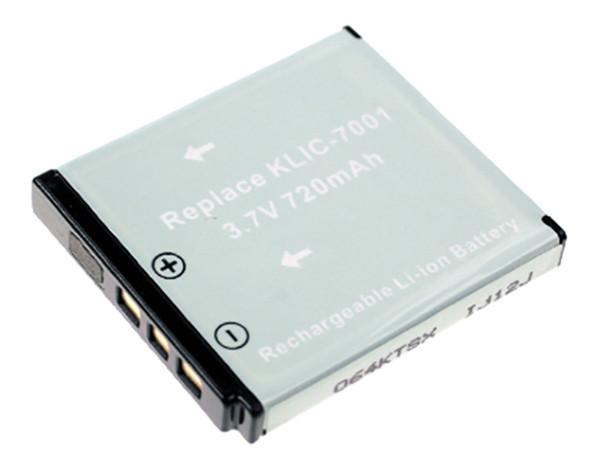 Akku wie Kodak KLIC-7001 für Easyshare M340, M1063, V550, V705, M753, M1063, BenQ DC-E1050