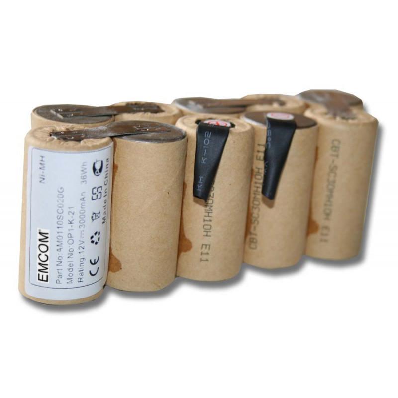 Akku für Gardena Accu-Pumpe 1500/1, Rasenkantenschere Accu V12, 12 Volt, 3000...