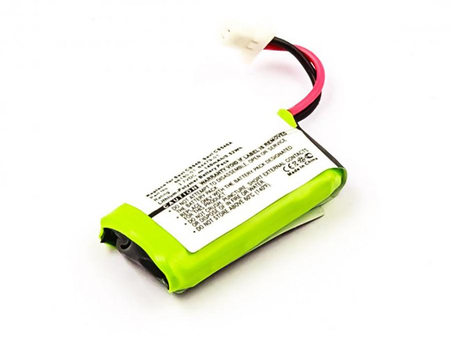 Akku für Plantronics Headset CS540, CS540A, Savi CS540, Savi CS540A, entspric...