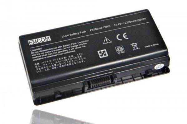 Akku für Toshiba Satellite L40, L45, Pro L40, wie PA3591U-1BAS, PA3591U-1BRS, 2.200 mAh