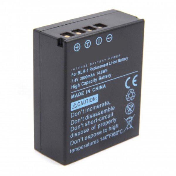Akku wie Olympus BLH-1, 2000 mAh für Olympus E M1 Mark II, Batteriefriff HLD-9
