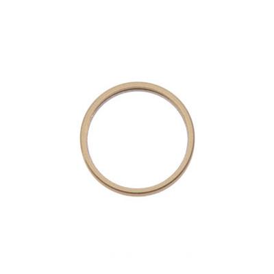 Apple Rücken- /Hauptkameralinse-Metallring, passend für iPhone XR, gelb