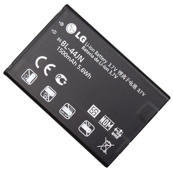 Akku Original LG für E400 Optimus L3, P690 Optimus Net, P970 Optimus Black, Typ BL-44JN