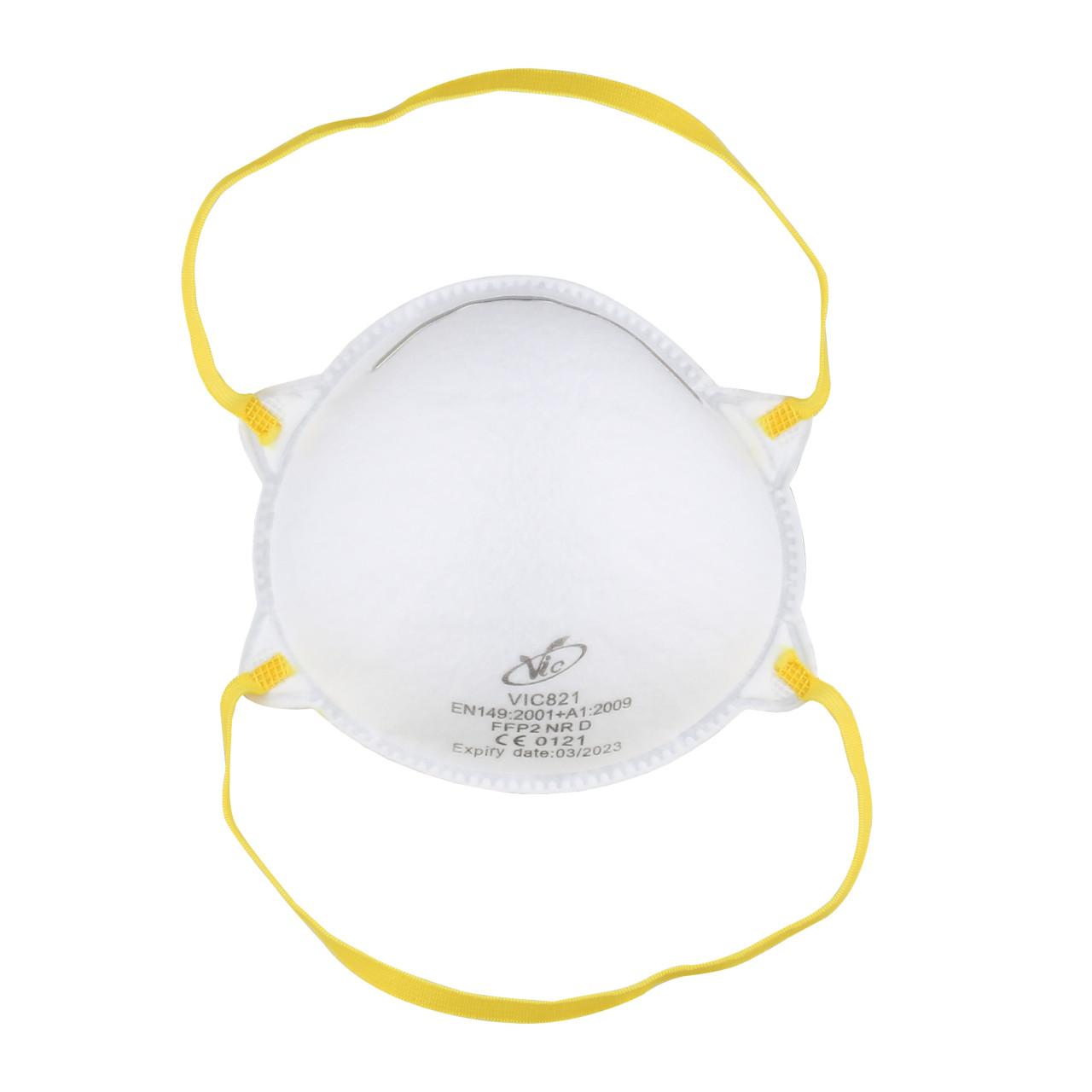 EMCOM 20x Schutzmaske FFP2 DIN EN149, mit anpassbarem Nasenbügel - (1 Packung mit 2...