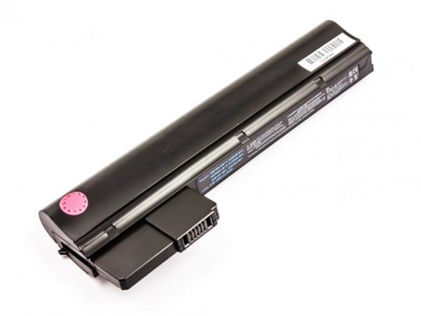 Akku für HP Compaq Mini 110,210, CQ10, Icto N455, N570, wie HSTNN-UB1Y, XQ505AA, ED06DF, 4.400mAh