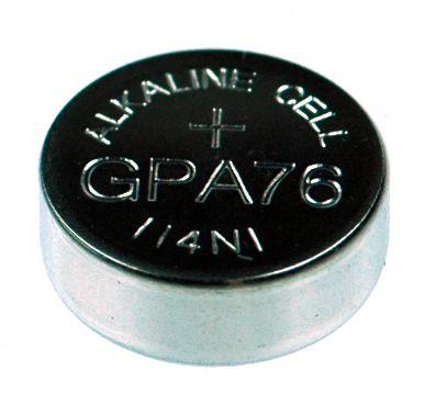 Panasonic / GP Batterie Knopfzelle LR44, GP76A, V13GA, PX76A, PX665A, LR1154, L1154, 1166A, ...