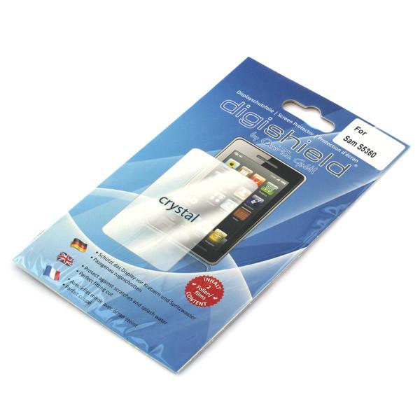 Displayschutzfolie für Samsung S5360 Galaxy Y, 2 Stück