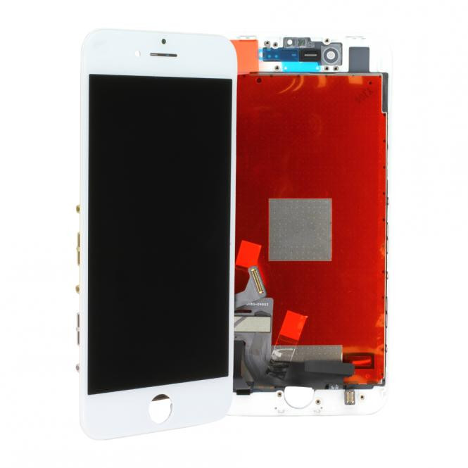 LCD-Display-Einheit komplett incl. Touchscreen fĂĽr iPhone 8, weiĂź