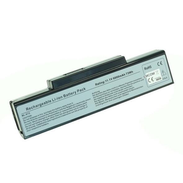 Hochleistungs-Akku für Asus A72, K72, K73, N71, N73, X72, X77, X77, wie A32-K...