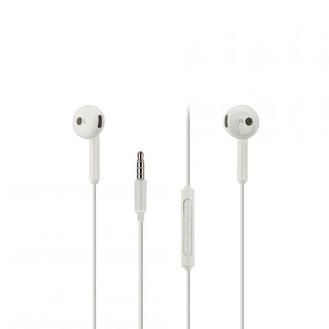 Huawei Stereo Headset AM115, 3,5 mm Klinkenanschluss weiß
