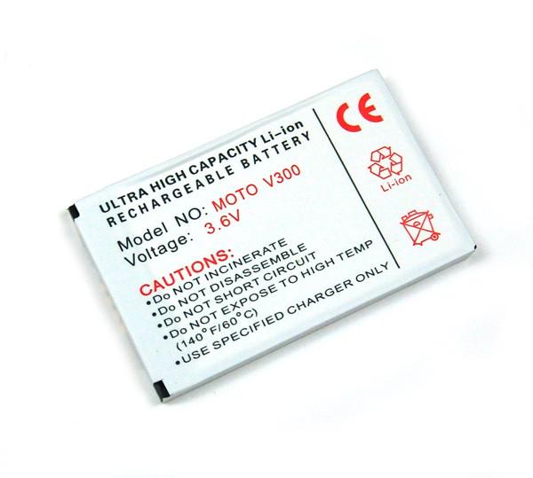 Akku für Motorola N5683, A760, E550, V525, V300, V400, V60, V600, V620, V650, wie BLS8470