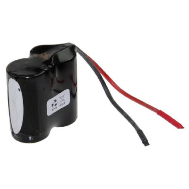 Akkupack für Notbeleuchtung 2.4 V, F1x2 Saft, Sub-C, VNT CS mit Kabel