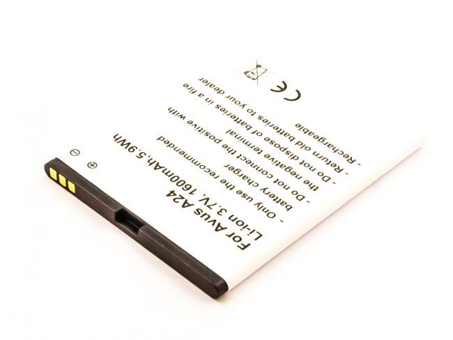 Akku für Avus 24, A24, wie A24/B018