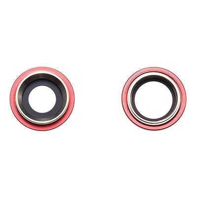 Apple Rücken- /Hauptkameralinse, 2 Stück, passend für iPhone 11, rot