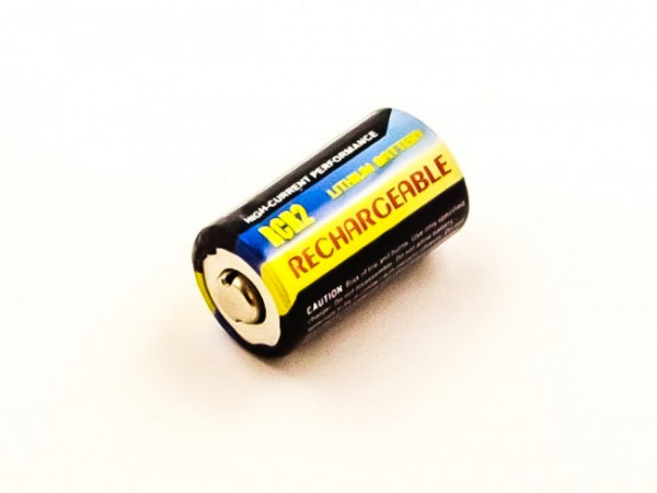 Akku CR2, 3 Volt, Li-Ion, 250 mAh