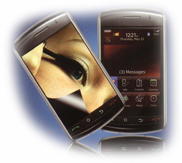 Displayschutzfolie für HTC HD 2, Spiegeleffekt