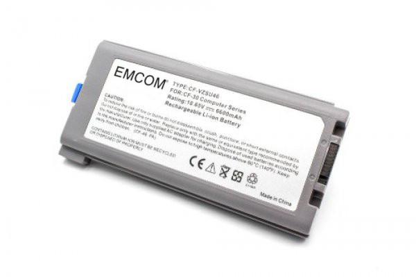 Akku für Panasonic ToughBook CF-30, CF-31, CF-53, wie CF-VZSU1430U, CF-VZSU46, 6600mAh