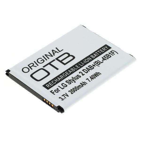 Akku für LG V10, F600, H900, Stylus2, wie BL-45B1F, 2000 mAh, 3.85V